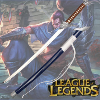 Yasuo Sword League of Legends the Unforgiven Steel Replica Katana Gaming Cosplay Unsharpened