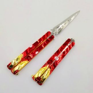 "Practice Butterfly Knife ""Iron Man"""