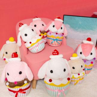 Cup Cake Rabbit Plush